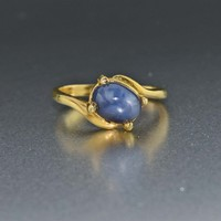 14K Gold Vintage Engagement Ring