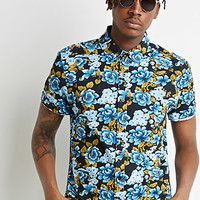 Ornate Floral Print Shirt