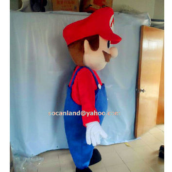 Super Mario Mascot Costumes,Cosplay Costumes for Adults,Cosplay Clothing, Birthday Clothing,Proposal Clothing,Wedding Clothing,Prom Clothing