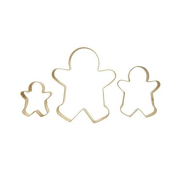 Stainless Steel Gingerbread Man Cookie Cutters