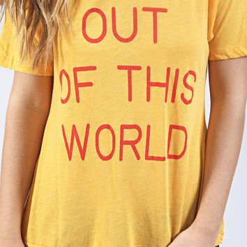 wildfox: perfect tee - out of this world