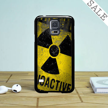 Warning Radioactive- Samsung Galaxy S5 Case