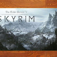 "Game poster The Elder Scrolls V: Skyrim High-quality posters prints 20""* 32"""