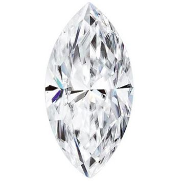 Marquise Shaped Forever One™ Moissanite Gemstone - Colorless (D-E-F)