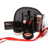 FOCALLURE Makeup Maquiagens Full Professional Makeup kit With Eye Shadow
