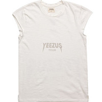 Yeezus Tour Merch Raw Edge Boxy T-Shirt at PacSun.com