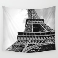 Paris Tour Eiffel Wall Tapestry by Gaby Florio