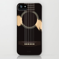 ONCE GUITAR iPhone & iPod Case by K. Frank
