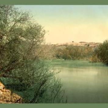 Place of Baptism on the River Jordan 20x30 poster