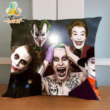 The New movie Suicide Squad  - The Joker  Cushion Cover - Throw Pillow For Living Room or Bed Room