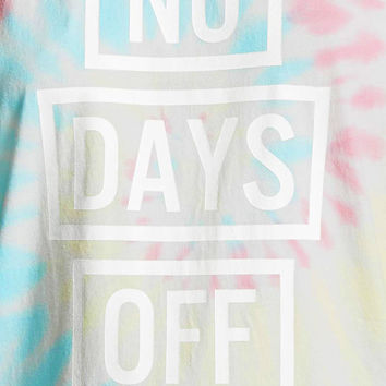 Active No Days Off Tie-Dye Top