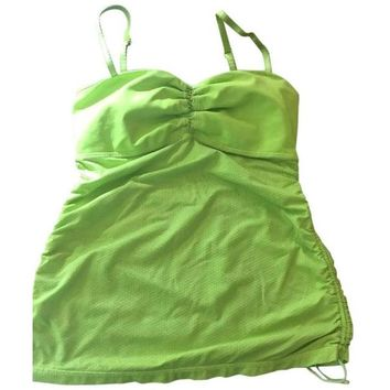 Lululemon Lime Shelf Bra Tank Top Size 4 $19 Free Shipping!