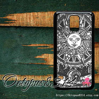 moon and sun,samsung galaxy S3mini case,S4mini case,samsung galaxy S3,S4,S5,samsung galaxy note 3,note 2 case,samsung galaxy S4 active case