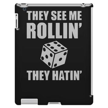 they see me rollin they hatin iPad 3 and 4 Case
