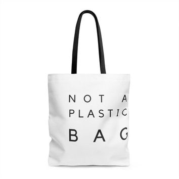 """""""Not A Plastic Bag"""" Shopping Tote"""