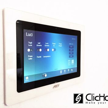 AUTOMATION COMPONENT AND SYSTEM TOUCH SCREEN | AUTOMATION COMPONENT AND SYSTEM | DOMOTICA CLICHOME