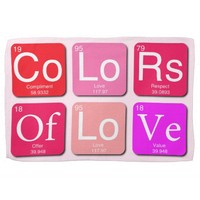 Colors Of Love Towel