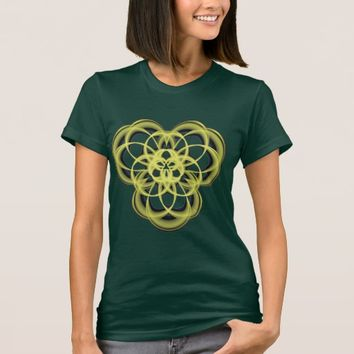 Women's American Apparel Sacred Geometry T-Shirt