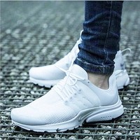"""NIKE"" Women Fashion Running Sport Casual Shoes Sneakers White"