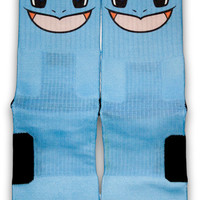 Squirtle Custom Elite Socks