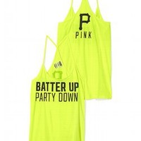 Pittsburgh Pirates Skinny Racerback Tank - PINK - Victoria's Secret