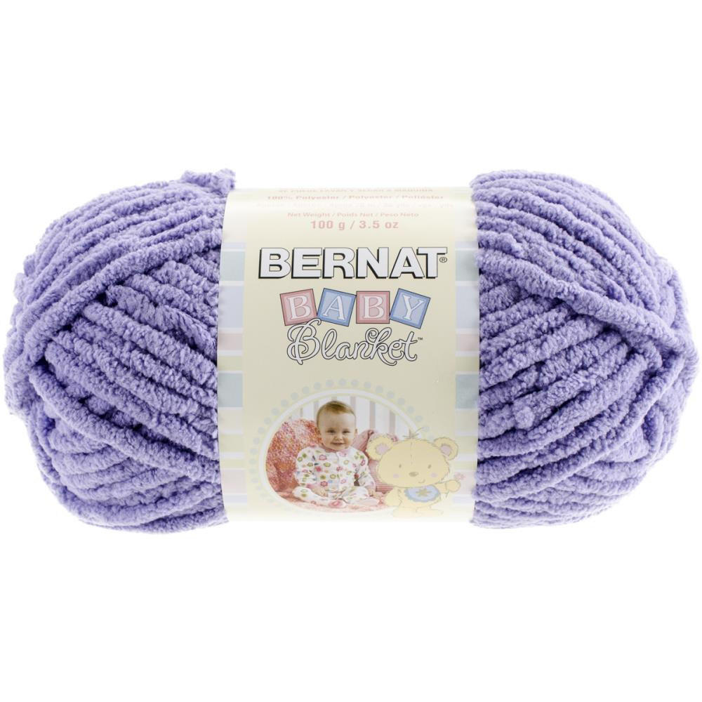 Crochet Patterns Bernat Blanket Yarn : Bernat Baby Blanket Yarn in Lilac from Kays Crochet Patterns