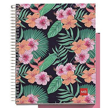 Miquelrius Tropic 4-subject Notebook, College Ruled, 8.5 x 11 (49890) | Staples