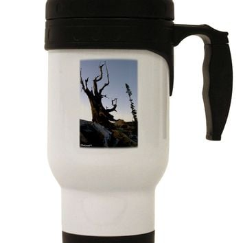 Colorado Mountain Scenery Stainless Steel 14oz Travel Mug by TooLoud