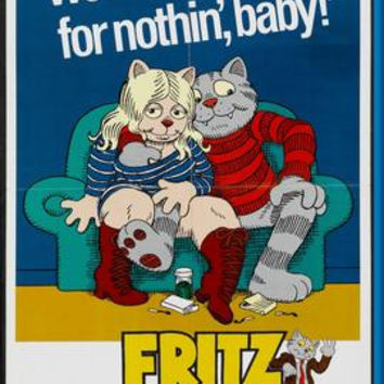 Fritz The Cat Movie Poster 24inx36in