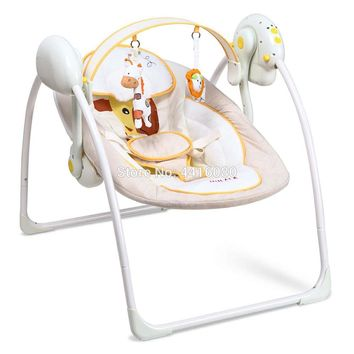 On the Go Rocking Baby Infant Rocker Bouncer Chair Music Vibration Swing Sleeper Cradle Seat 0 to 36months