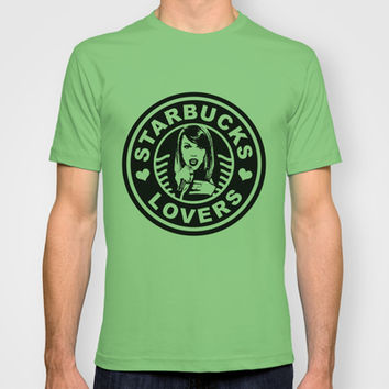 STARBUCKS LOVERS T-shirt by Lovejonny