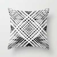 ACID ABSTRACT Throw Pillow by Chrisb Marquez