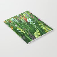 Field of flowers Notebook by Knm Designs