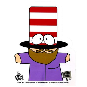 DCCKU3R South Park - Mr. Hat Decal