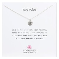 Dogeared Love Rules Pendant Necklace | Nordstrom