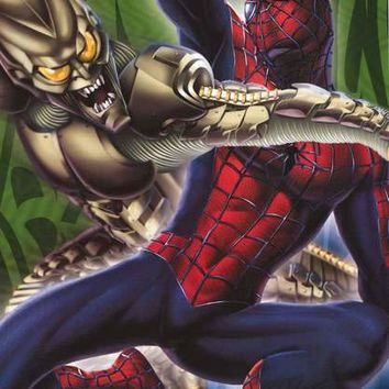 Spider-Man and the Green Goblin 2002 Marvel Comics Poster 22x34