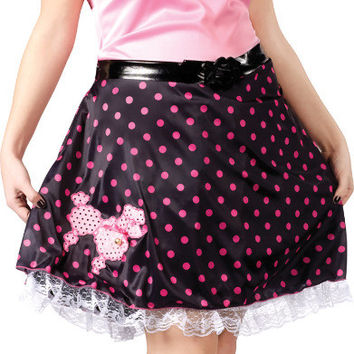 women's costume: poodle skirt