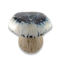 Blue and White Ceramic Mushroom Garden Stool/Plant Stand
