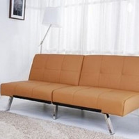 Futon Bed Sleeper Sofa Click Clack Couch Convertible Living Room Furniture New