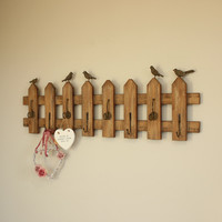 Garden Fence Style Wall Hooks - Melody Maison®