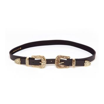 B-Low The Belt B-Low The Belt Baby Bri Bri Belt In Gold/Black | Bluefly