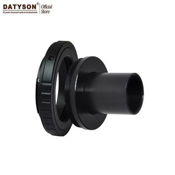 """T-ring and M42 to 0.965"""" Telescope Adapter ( T-mount ) for SLR/DSLR Camera Lens - Metal T Adapter Photography Multi-brand Choose"""