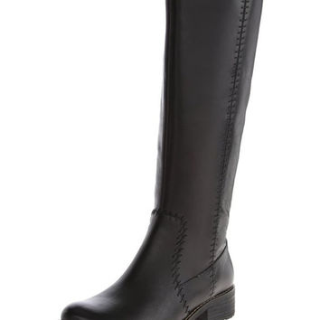 Sofft Adabell Wide Shaft Black Leather Boots
