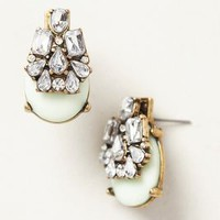 Seastone Earrings by BaubleBar x Anthropologie Mint One Size Earrings