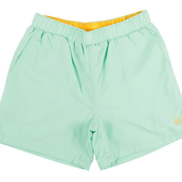 DOUBLE G NYLON DRAWSTRING SHORTS MINT