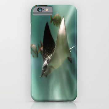 Majestic Flight of the Stingray iPhone & iPod Case by Distortion Art