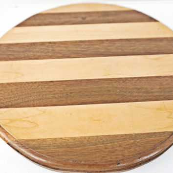 Solid Wood Lazy Susan Turning Tray Hand Made