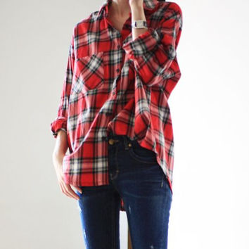 Mystery Unisex Hipster Fall & Winter Flannel Shirts-All Sizes,Colors & Styles