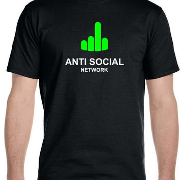Anti Social Network  Men's T-Shirt