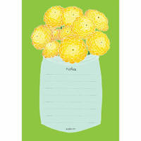 Yellow Flower Notepad